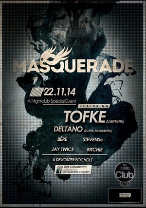 Poster of Masquerade with Tofke and Deltano